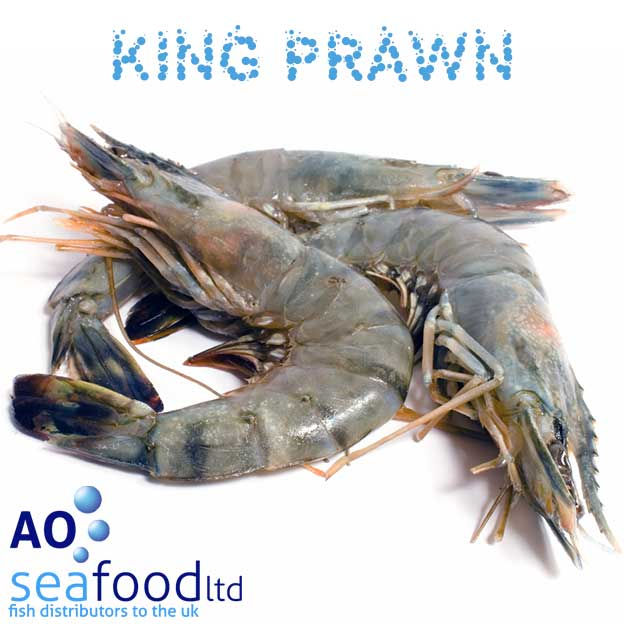 Buy King Prawns online in UK | Fresh Raw King Prawn