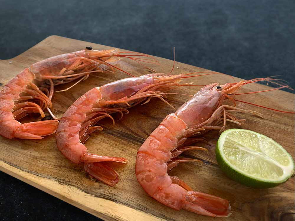 Argentinian Whole Red Prawns