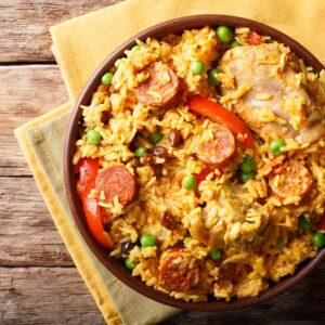 Paella – Chicken Chorizo
