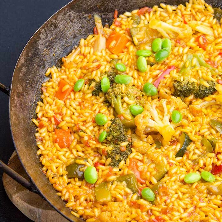 vegitarian paella
